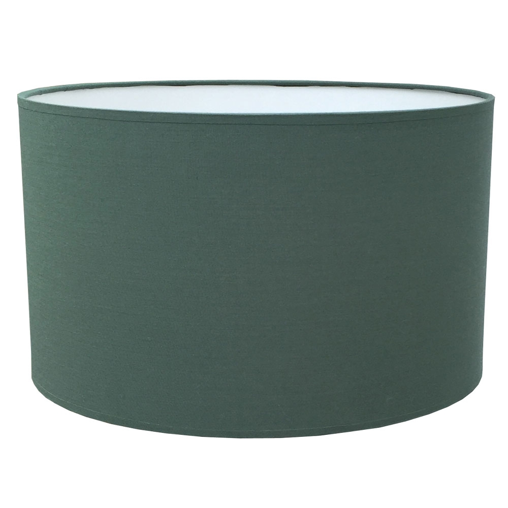 Drum Table Lampshade Forest