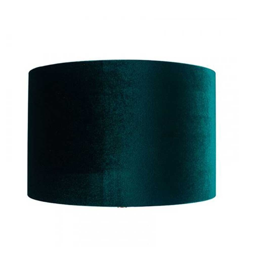 Velvet Drum Shade Green