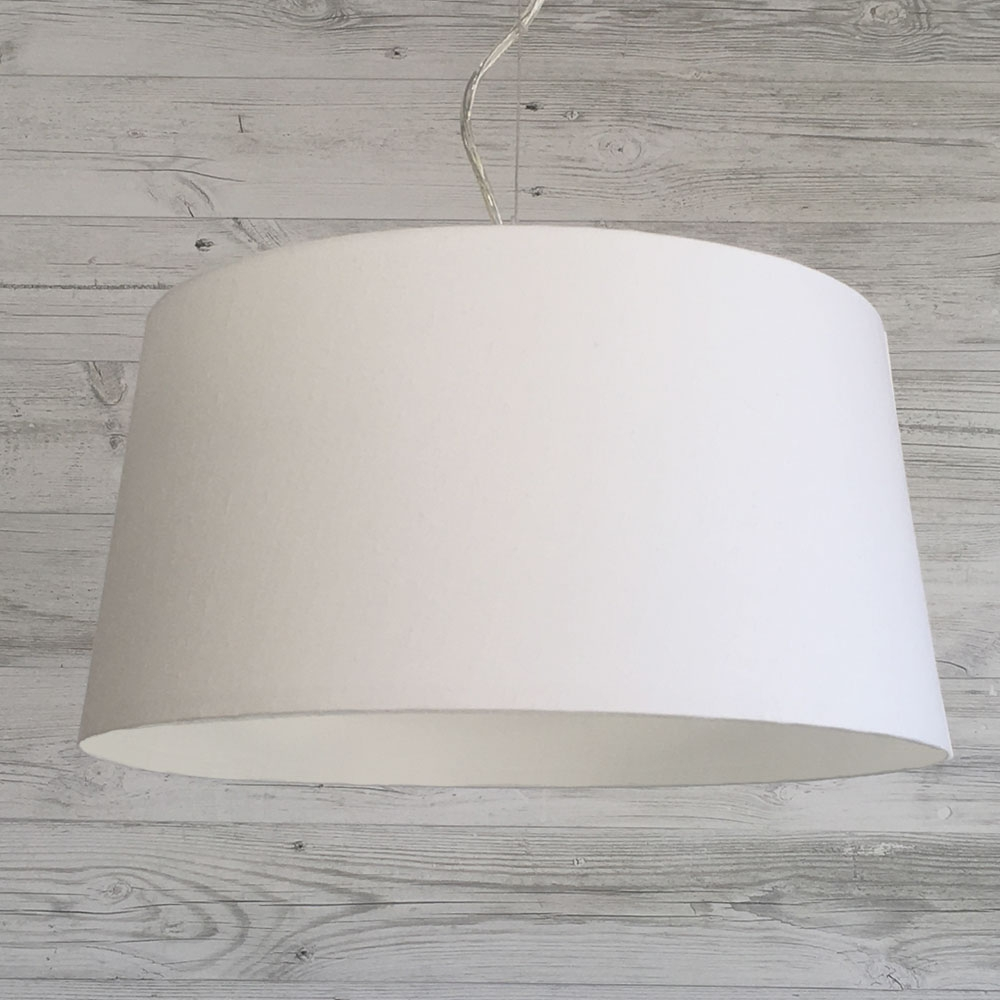 French Drum White Pendant