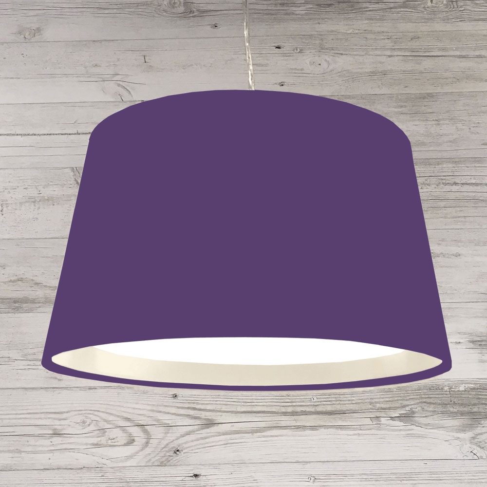 French Drum Ceiling R.Purple