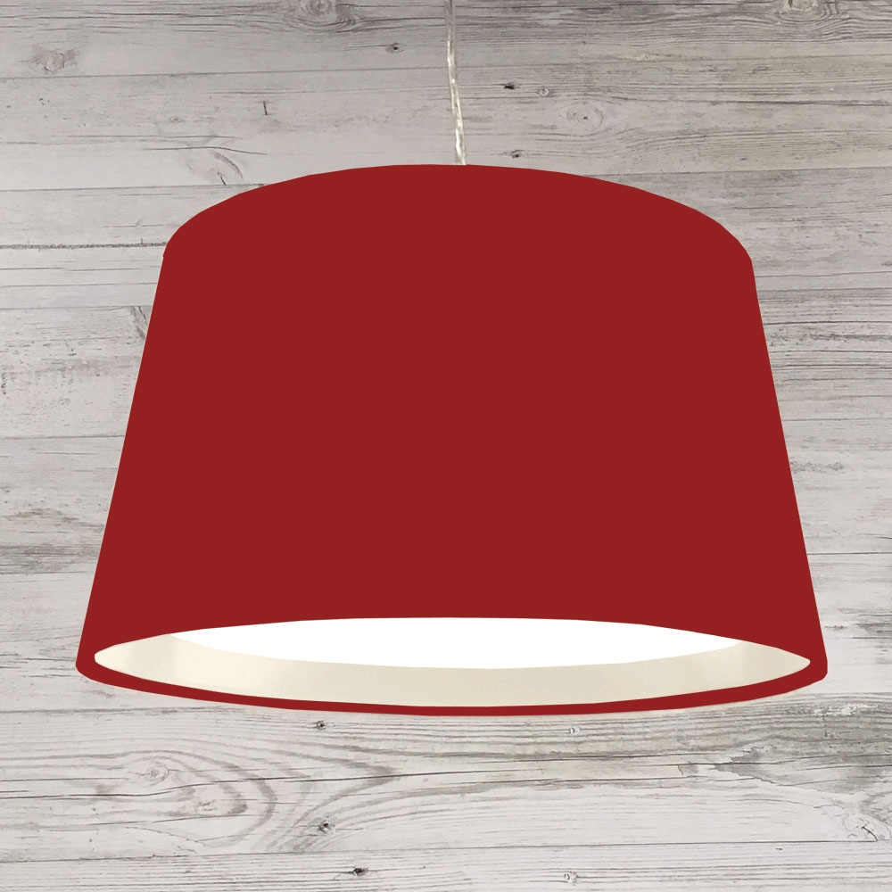 XL French Drum Pendant Brick