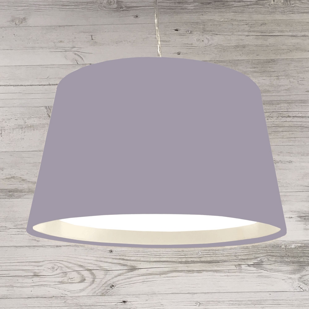 XL French Drum Pendant Lilac
