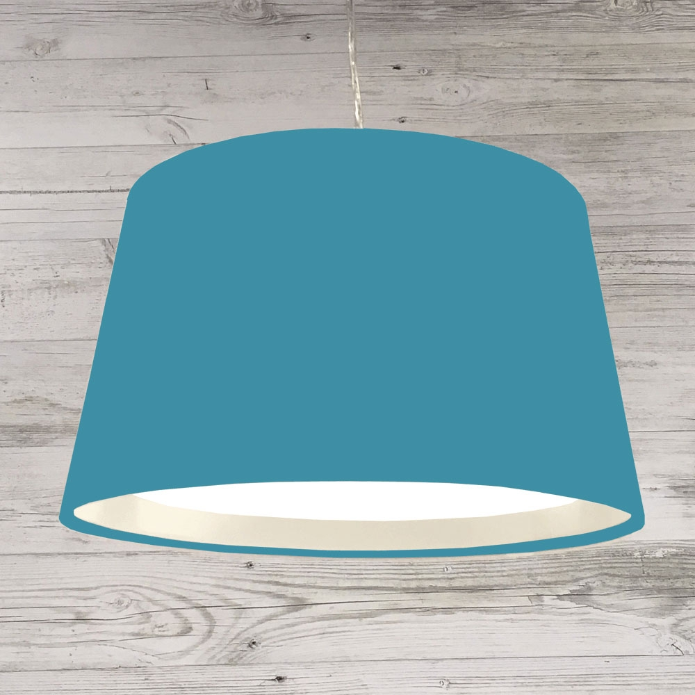 French Drum Ceiling Turquoise