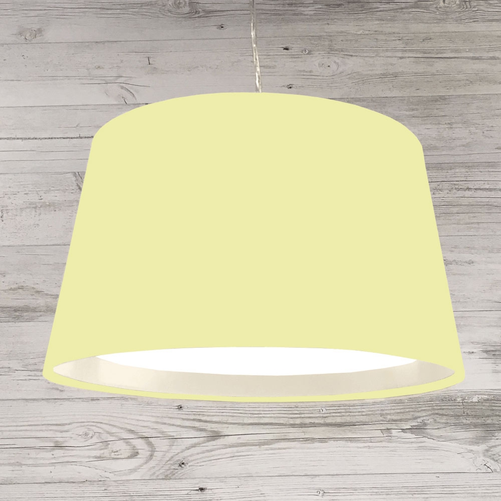 French Drum Ceiling Yellow