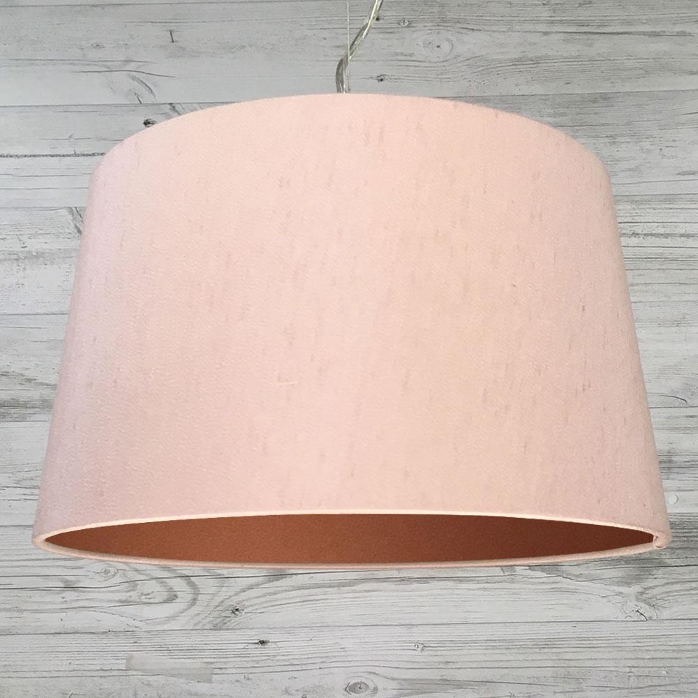 F. Drum Blush & Copper Pendant