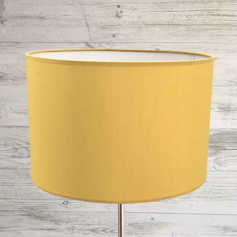 Drum Lampshade Gold