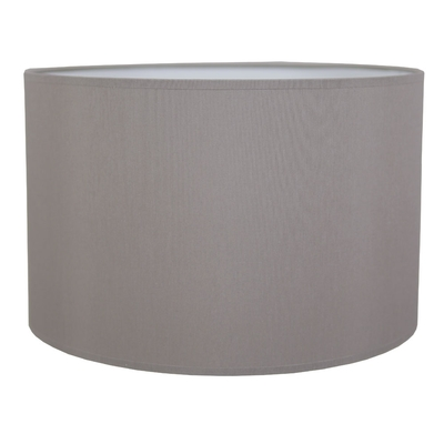Drum table lampshade grey imperial lighting drum table lampshade grey aloadofball Image collections