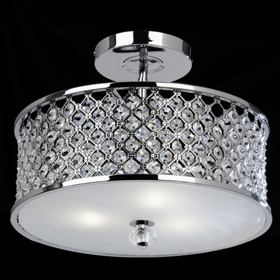 Hudson 2 Light Semi Flush