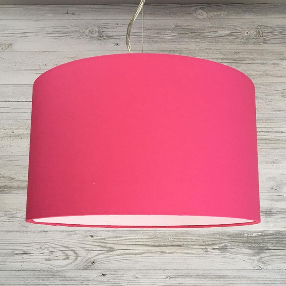 Hot Pink Drum Pendant
