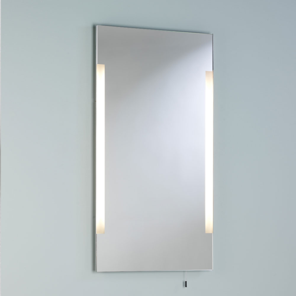 Imola 800 mirror - Polished Chrome