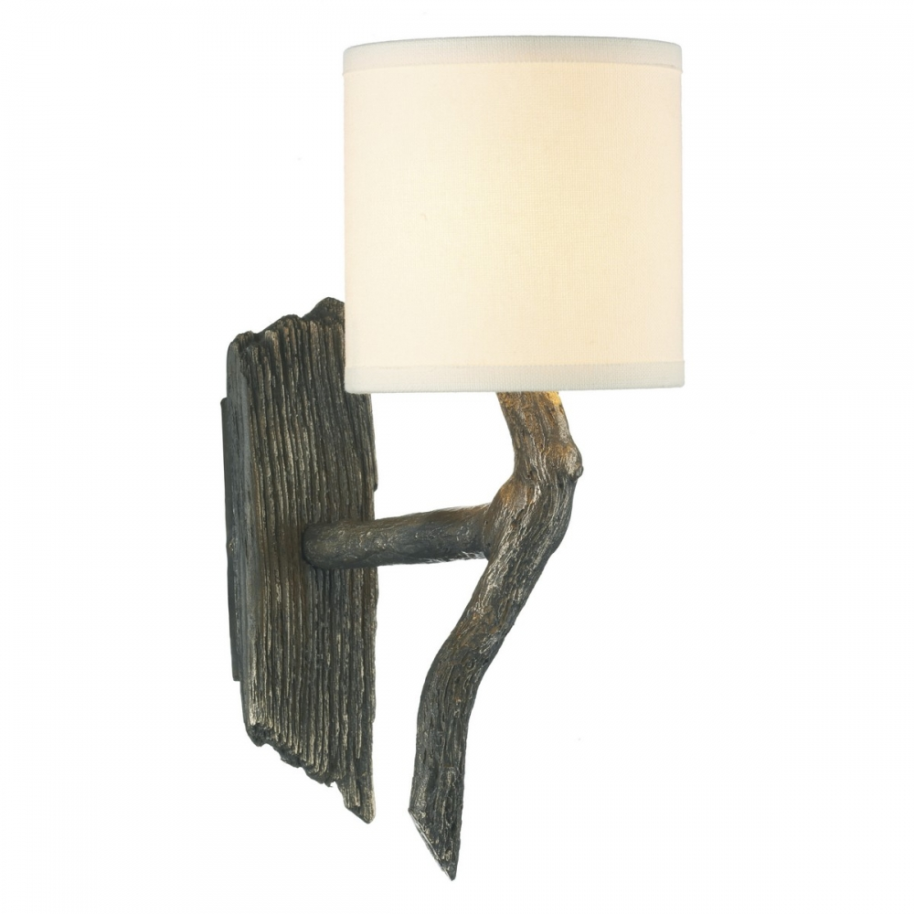 Driftwood Wall Light Bronze