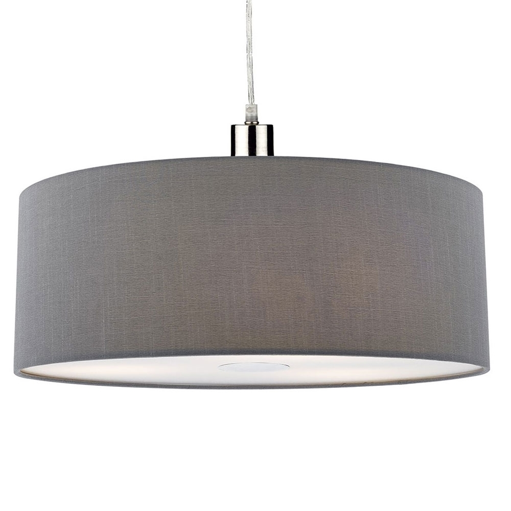 Ronda easy fit grey pendant