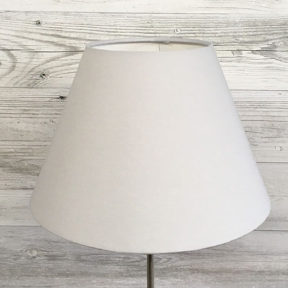 Light Grey Table Lampshade