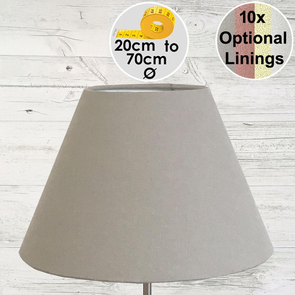 Bali Light Grey Empire Lamp Shade