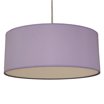 Drum ceiling shade Lilac
