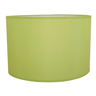 Drum Table Lampshade Lime Green