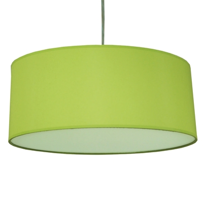 Drum Pendant Shade Lime Green