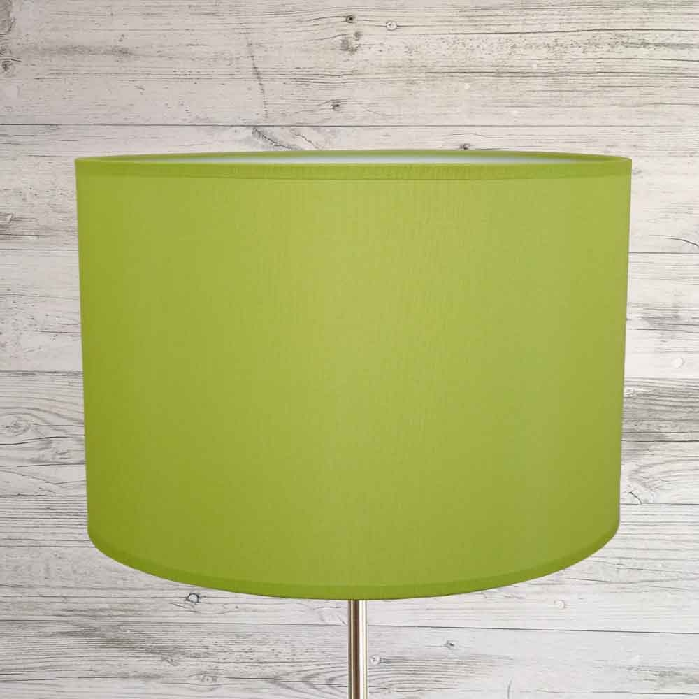 Drum Shade Lime Green