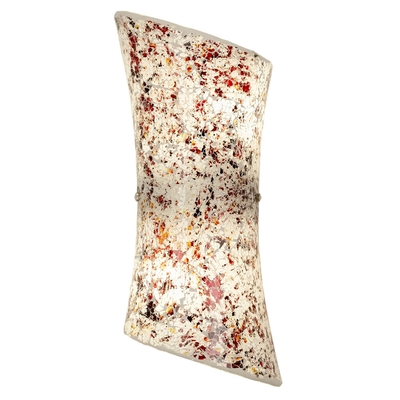 Hand Painted Marble Effect Wall Light