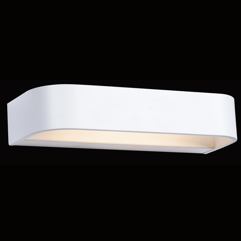 Curved Rectangle Wall Light