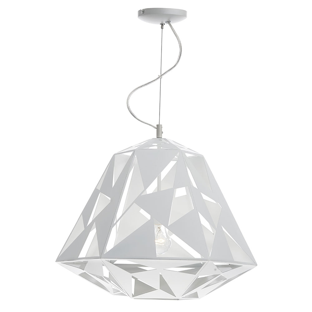 Moby Laser Cut Pendant White Imperial Lighting