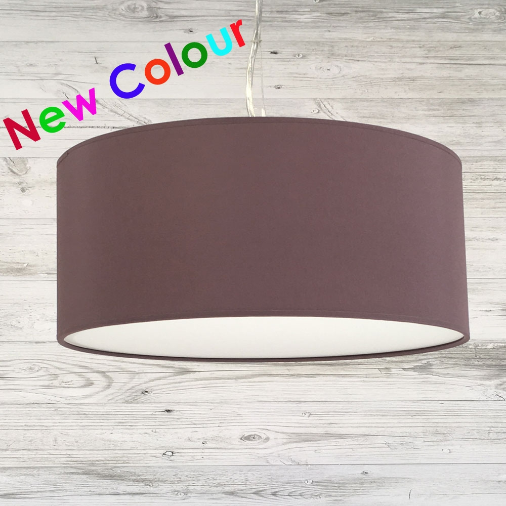 Drum Ceiling Shade Mauve