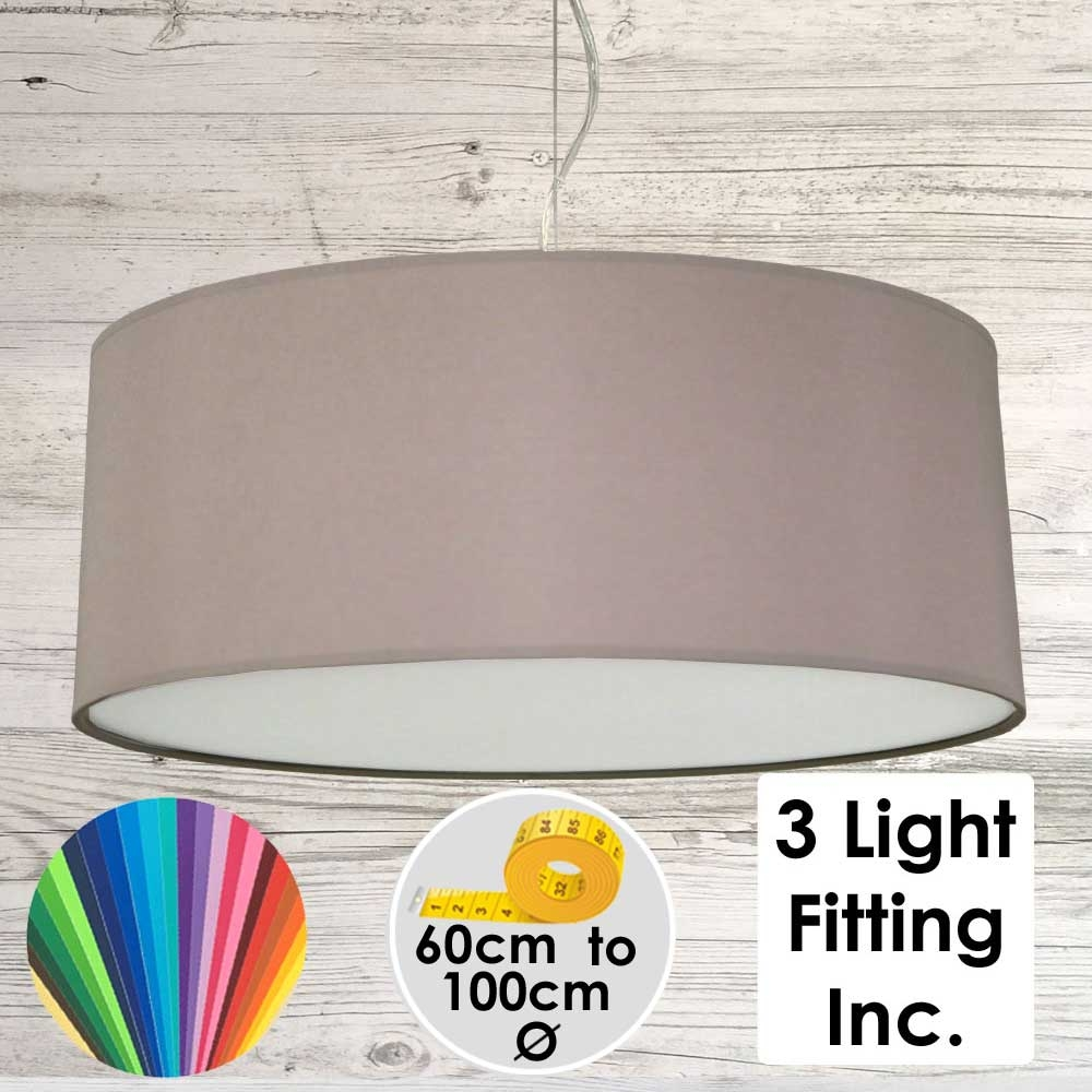 Mushroom Drum Ceiling Light