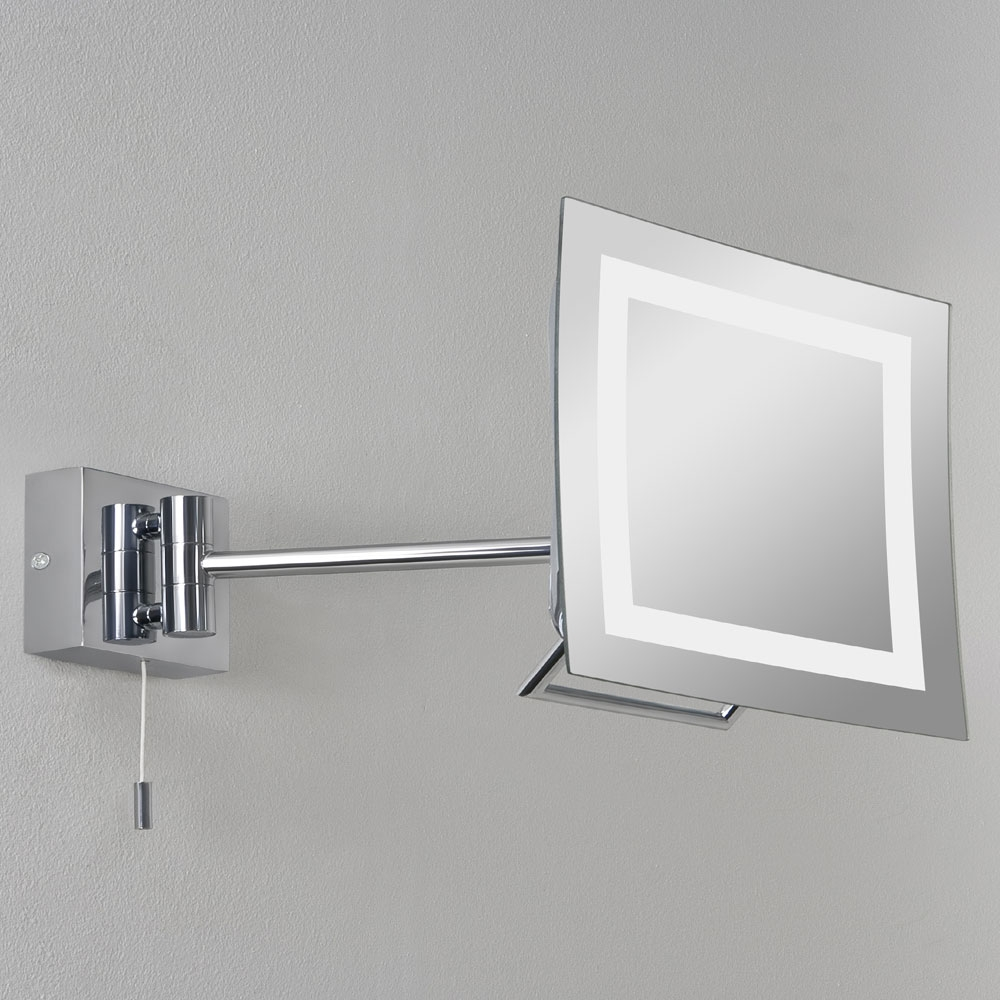 Niro Square Mirror Wall Light
