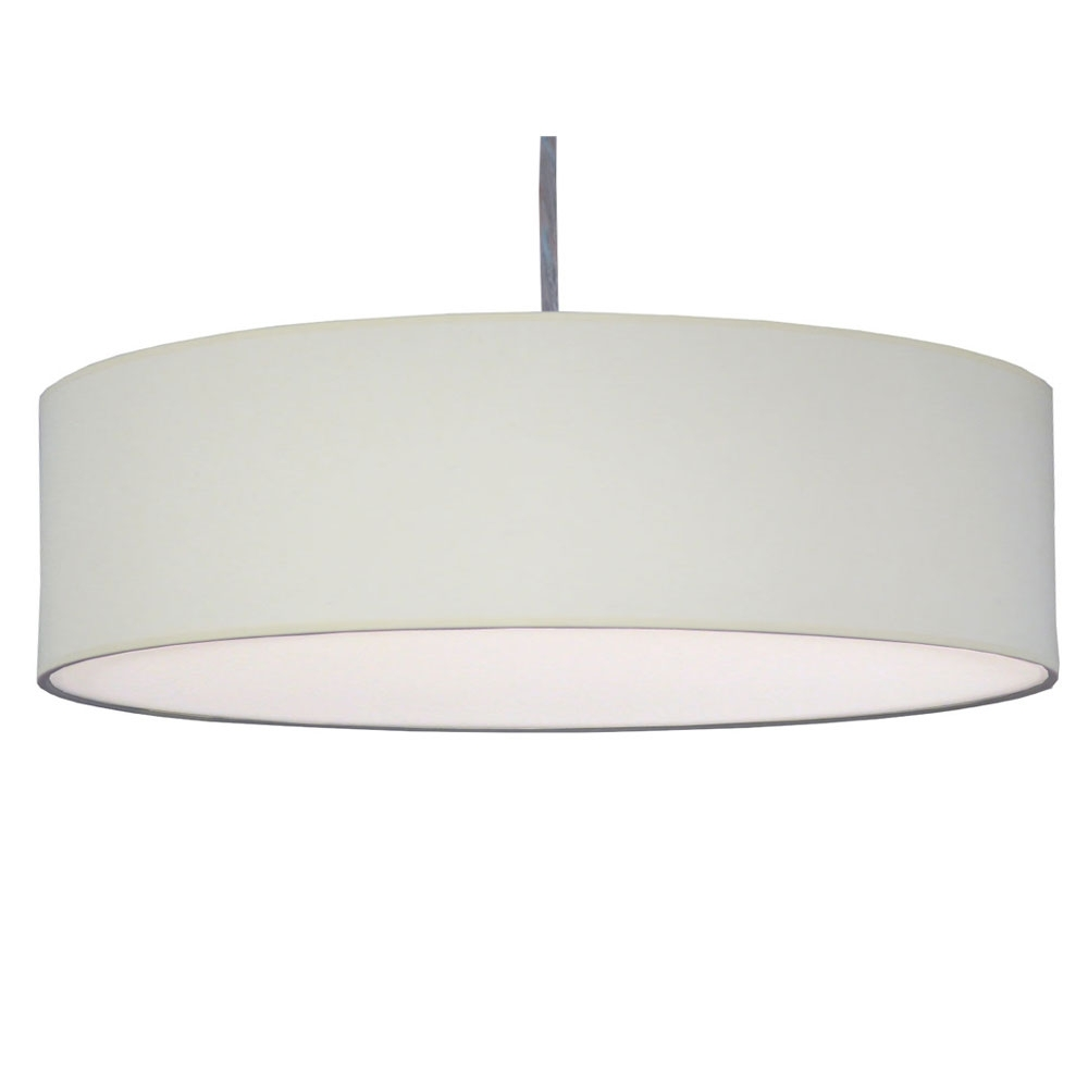 Thin xl drum 3lt natural imperial lighting for Wide drum lamp shade