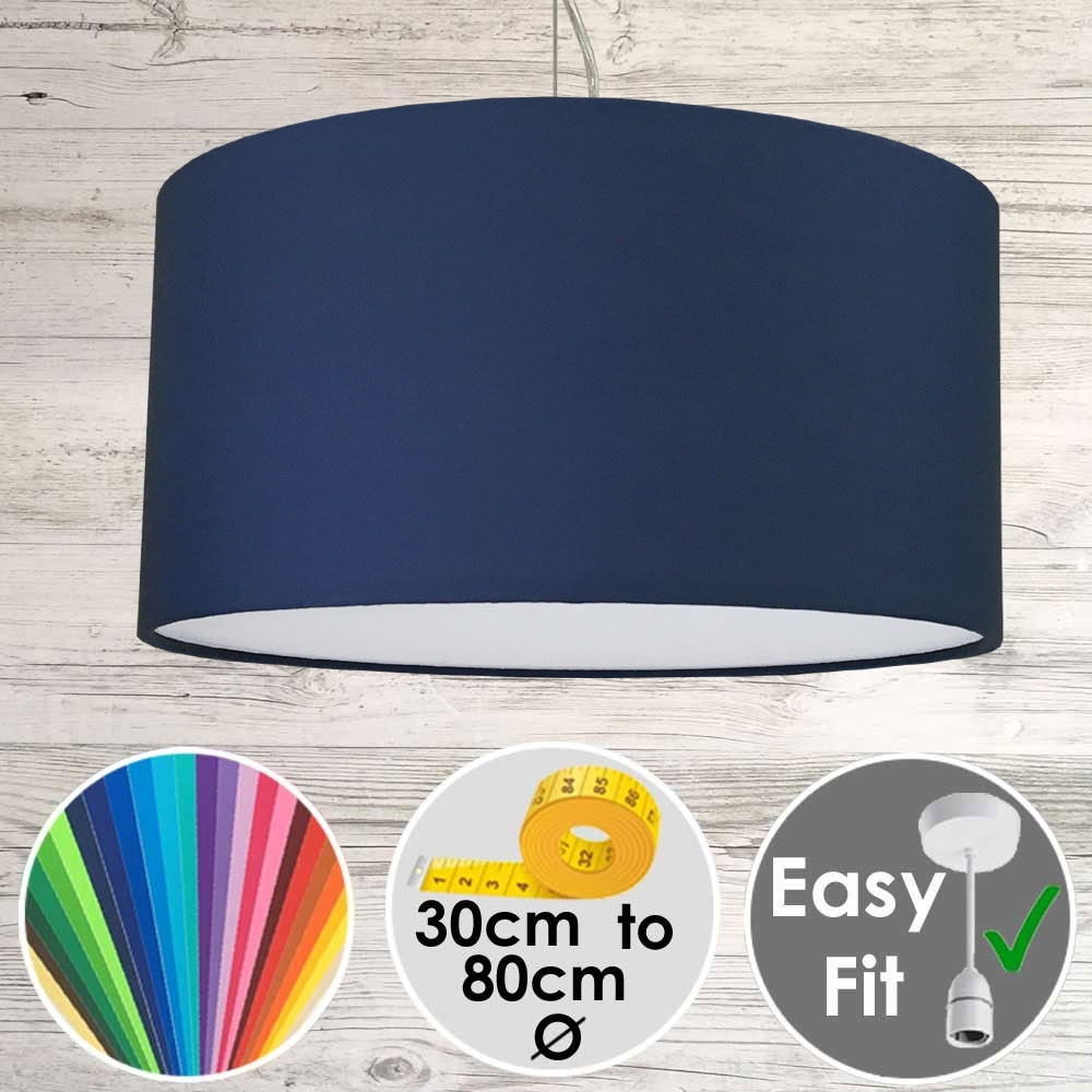 Navy Drum shade
