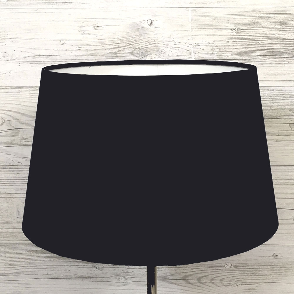 Navy French Drum Lampshade