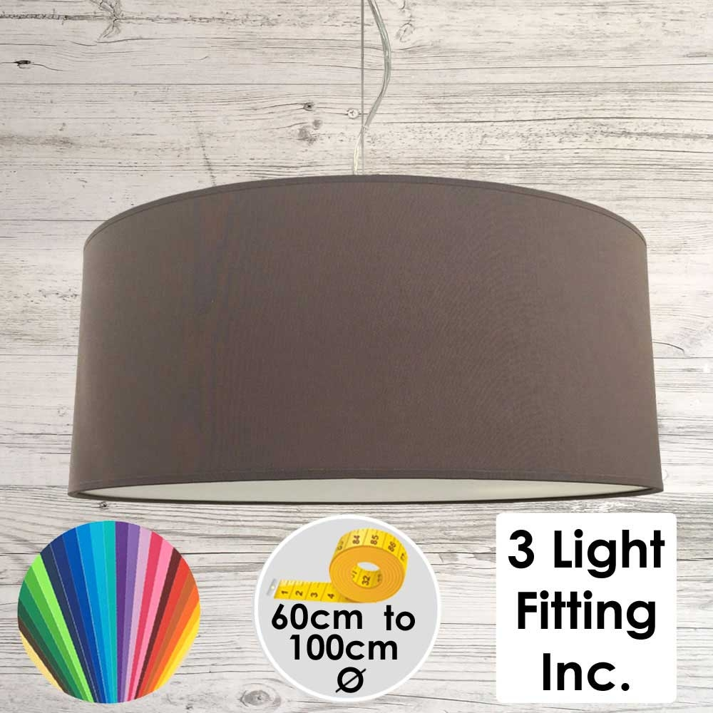 Nutmeg Drum Ceiling Light
