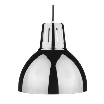Arc Large Polished Chrome Pendant