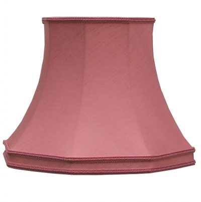 Skirted Octagon Shade Rose