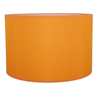 Drum Table Lampshade Orange