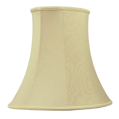 Bowed Oval Lampshade Oyster