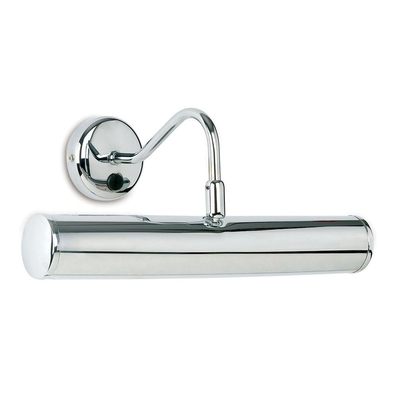 Picture Polished Chrome Long Wall Light