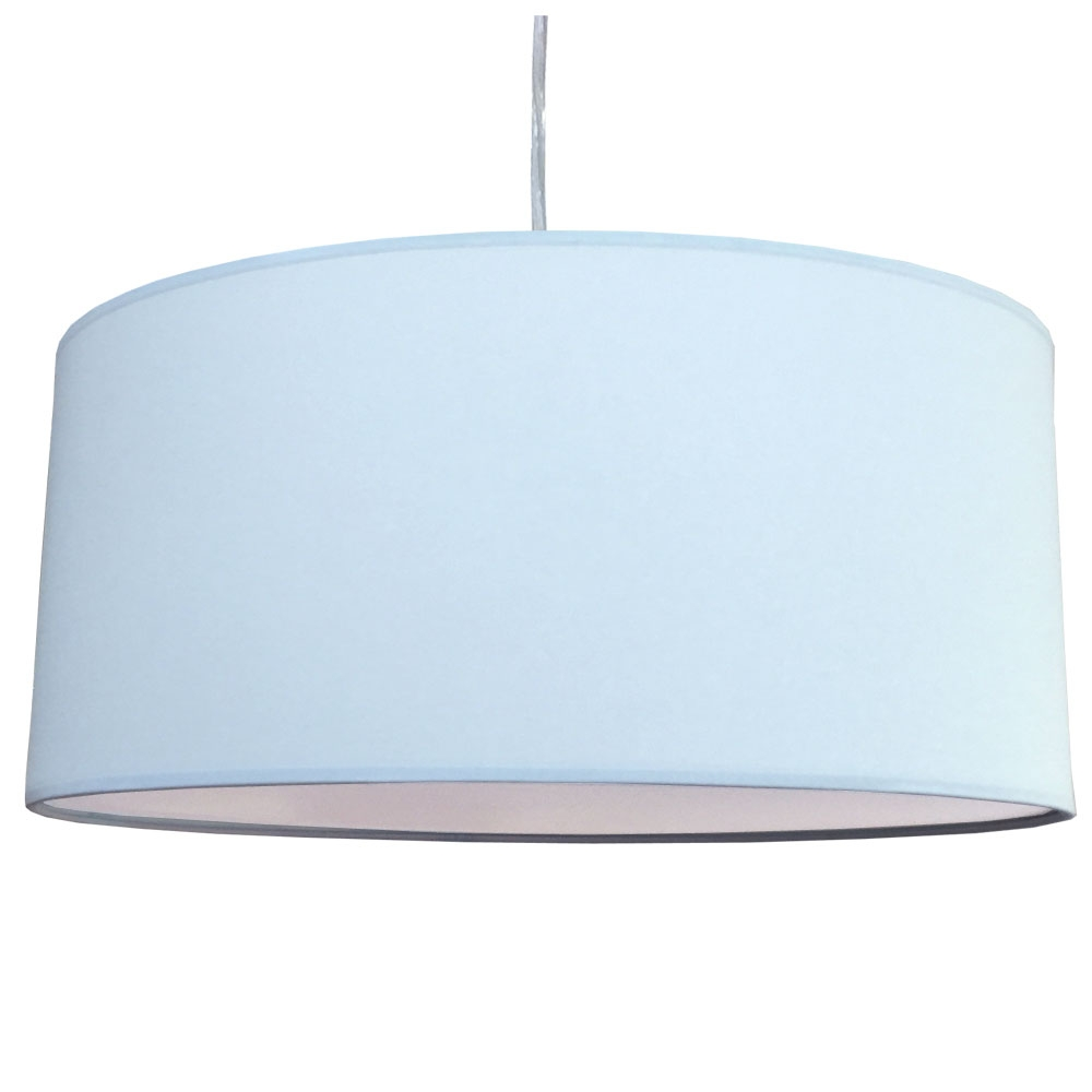 Ceiling lamp shades 1 of 1 imperial lighting imperial lighting drum pendant shade pale blue aloadofball Image collections
