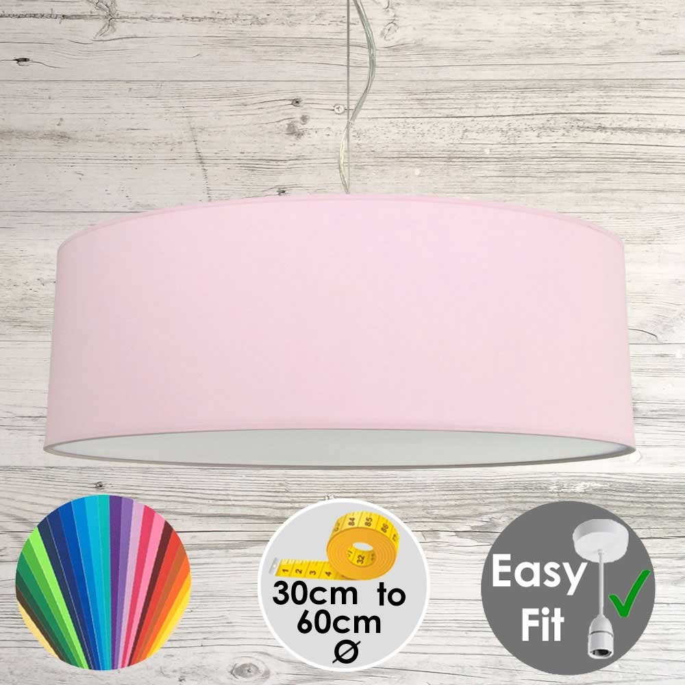 Pale Violet Drum Light Shade
