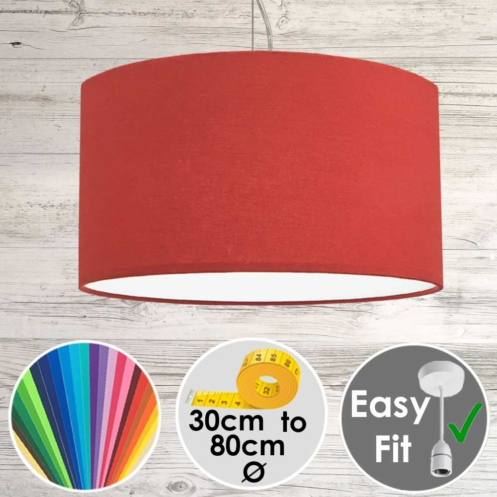 Pendant Lampshade Red