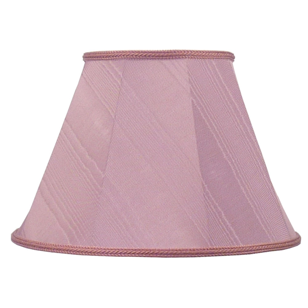 Empire Lampshade Pink Moire Imperial Lighting