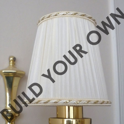 Pleated Empire Candle Shade