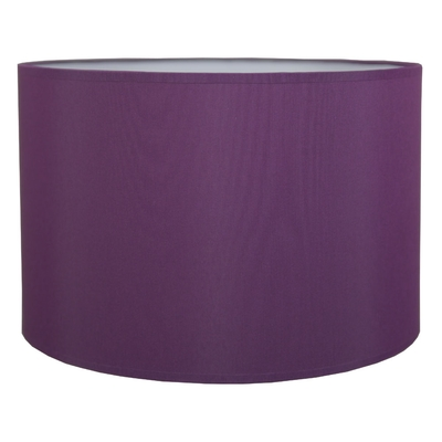 Drum Table Lampshade Purple