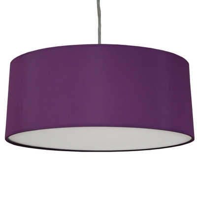 Drum Ceiling Shade Purple