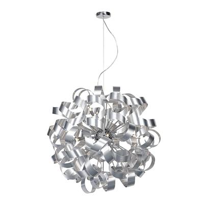 Rawley 12 light aluminium pendant