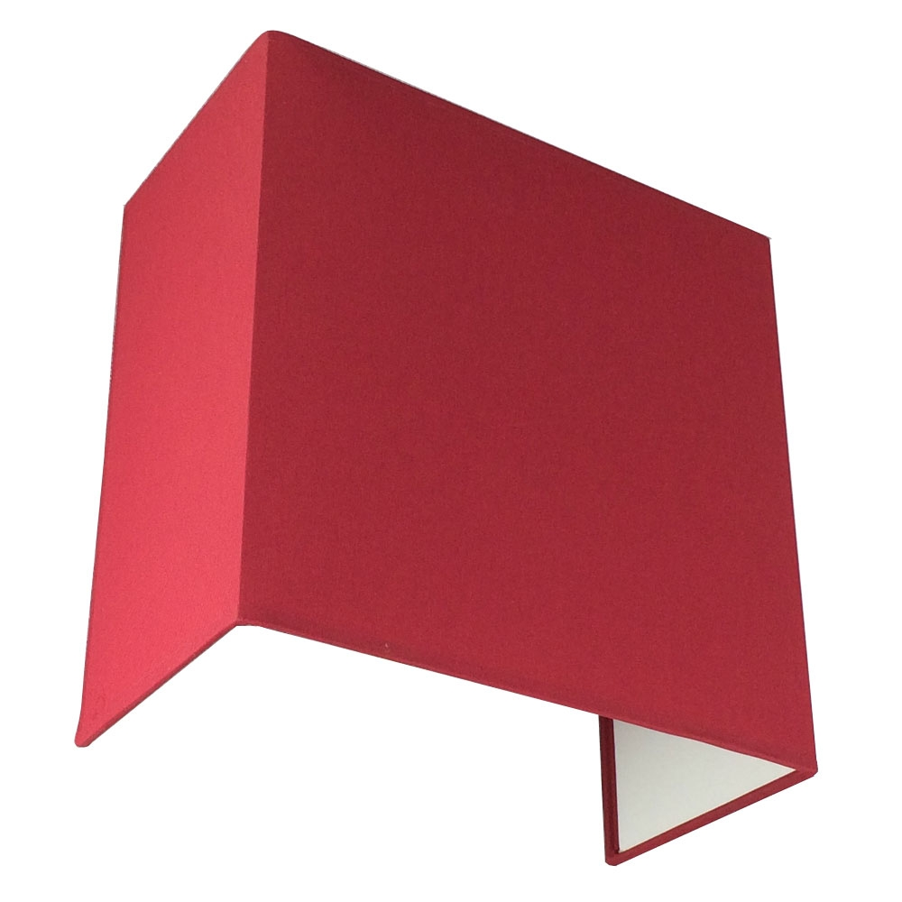 FLOATING RED SQUARE WALL LIGHT