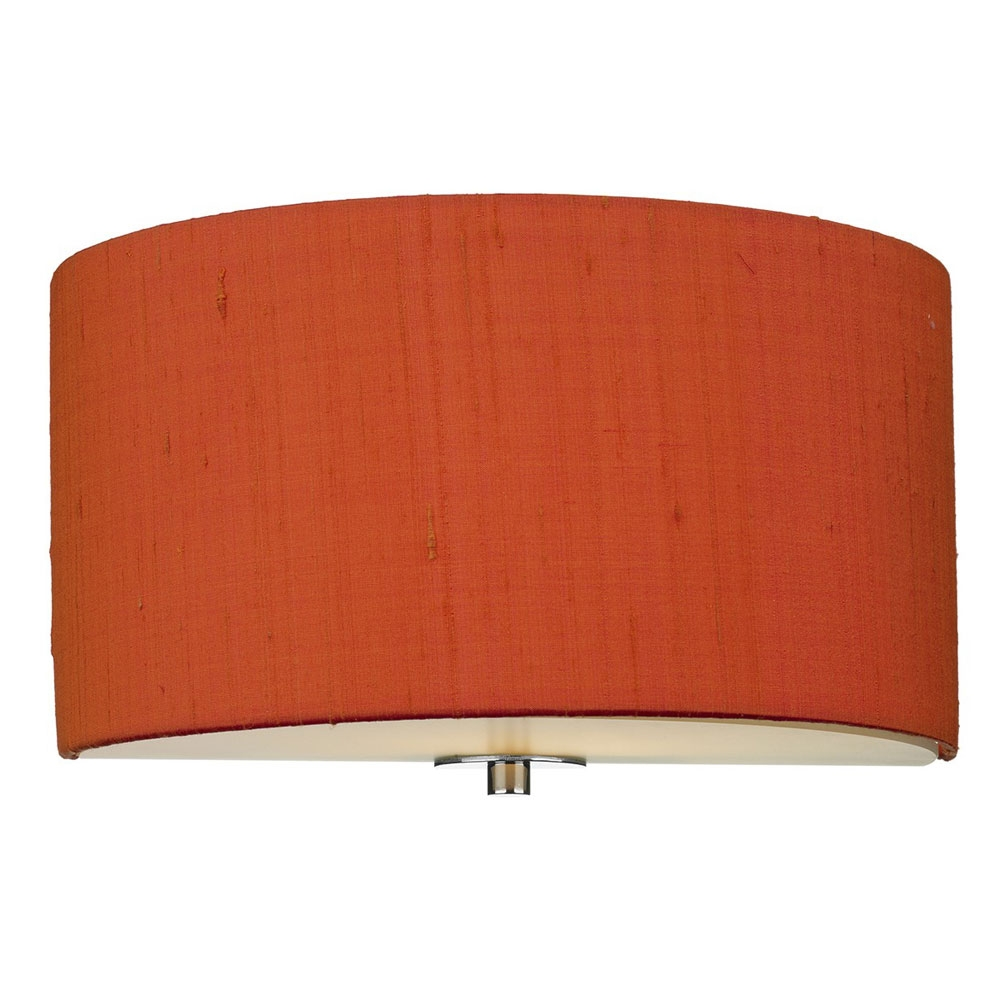 Dupion Silk Wall Shade Firefly