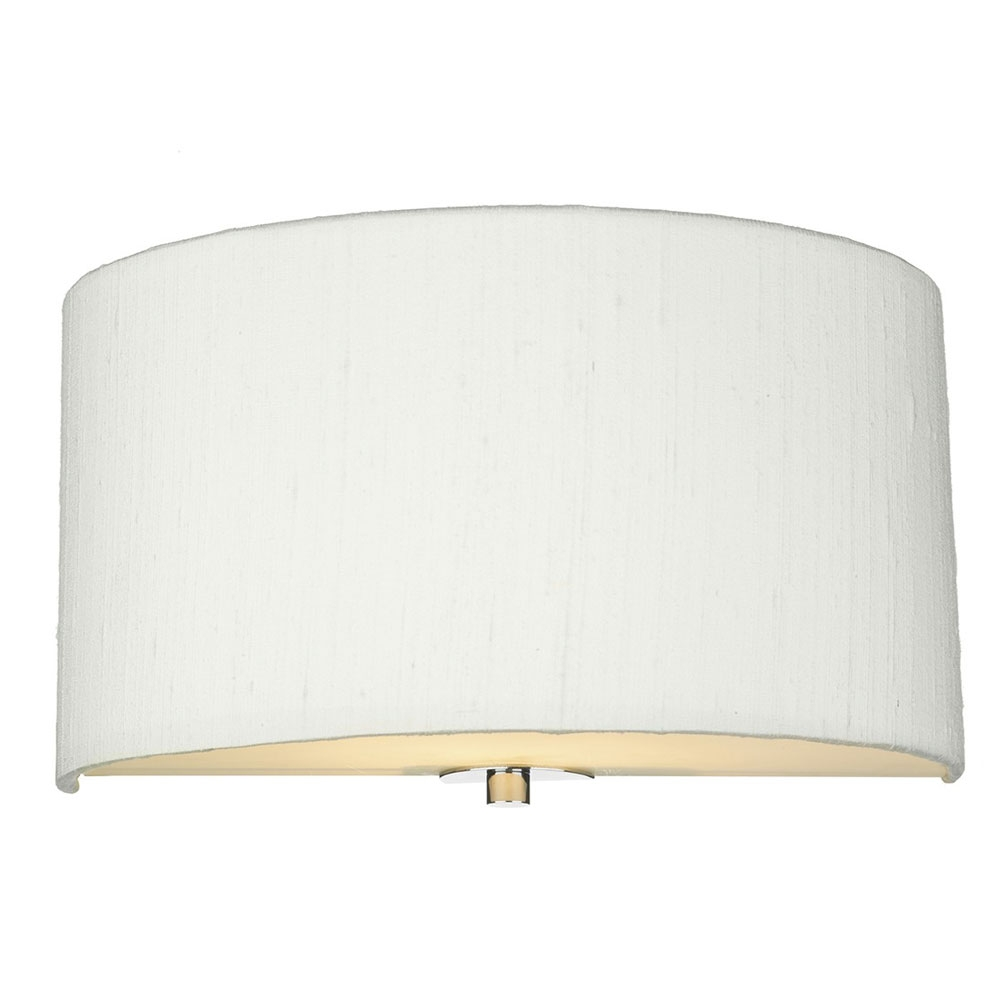 Dupion Silk Wall Shade Ivory