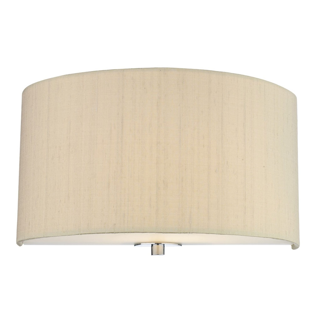 Dupion Silk Wall Shade Sea Mist Gold