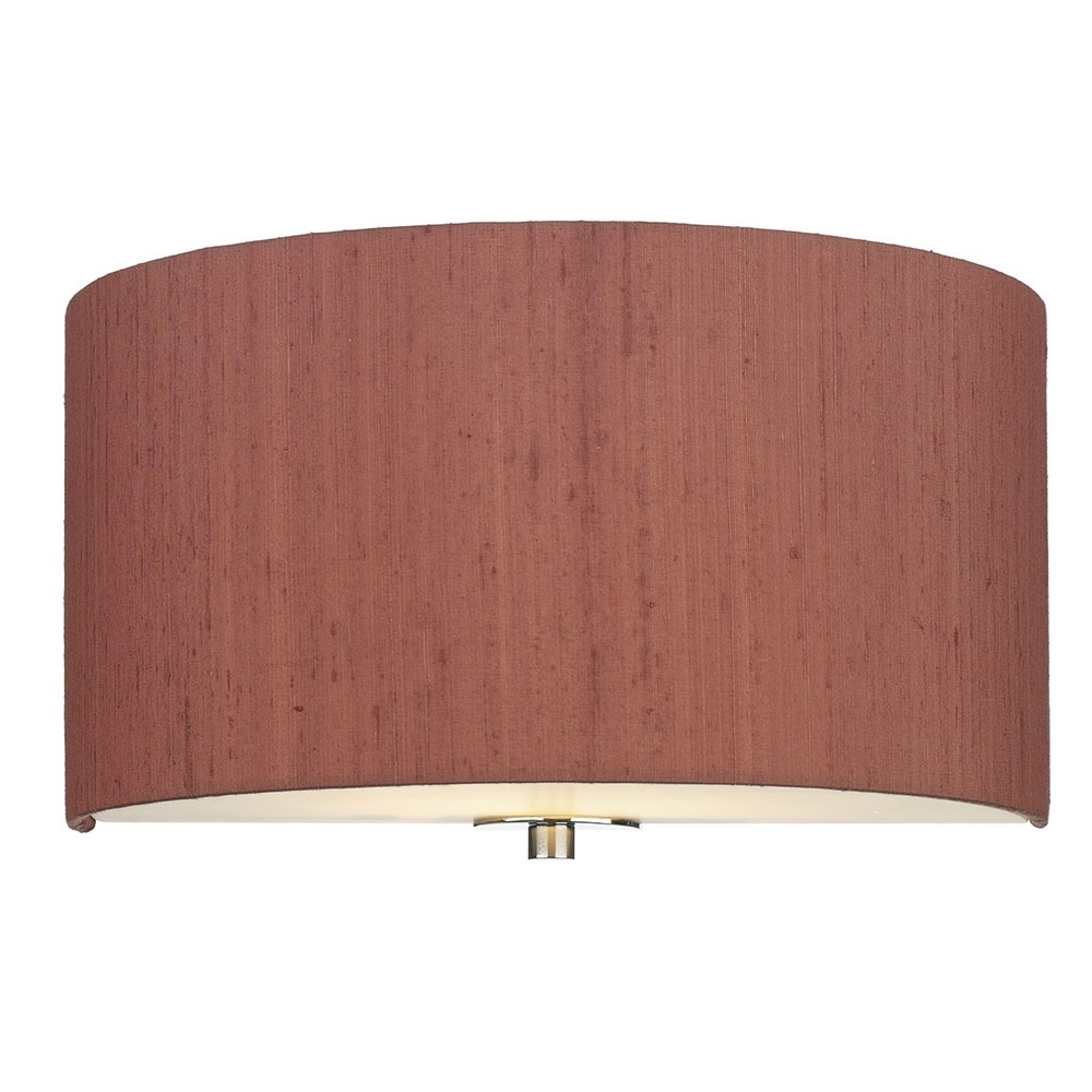 Dupion Silk Wall Shade Peppercorn
